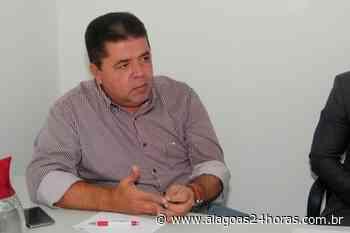 Prefeito de Joaquim Gomes testa positivo para Covid-19 - Alagoas 24 Horas