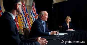 Premier John Horgan to hold weekly news conference at 1:30 p.m. Wednesday