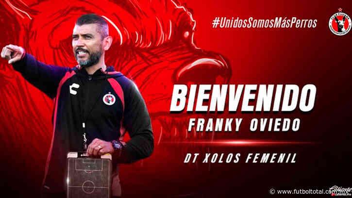 OFICIAL: Franky Oviedo nuevo DT de Tijuana Femenil