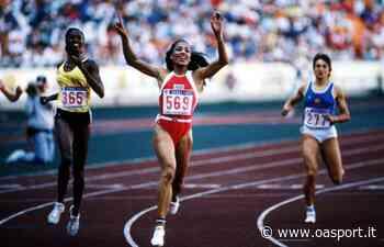 Atletica, i record del mondo: Florence Griffith-Joyner, un 10″49 'maschile' nei 100 metri - OA Sport