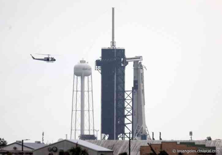 Historic SpaceX Launch Scrubbed Due To Bad Weather