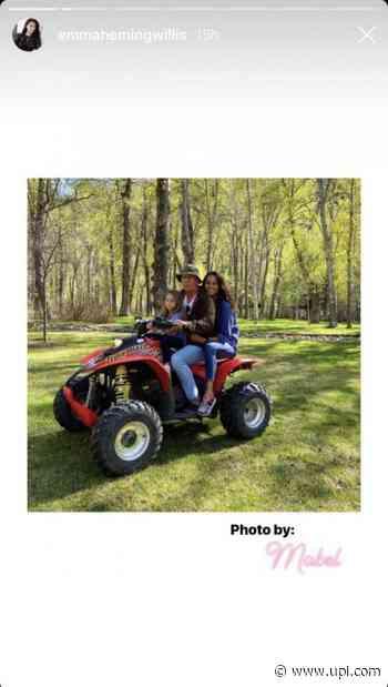 Bruce Willis, wife Emma Heming reunite for daughter's birthday - UPI News