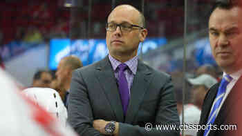 Detroit Red Wings general manager Steve Yzerman announces Jeff Blashill will remain head coach