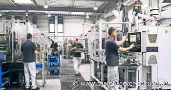 Spezialisten für Hontechnologie : Kadia Homburg fertigt Teile für Beatmungsgeräte - Saarbrücker Zeitung