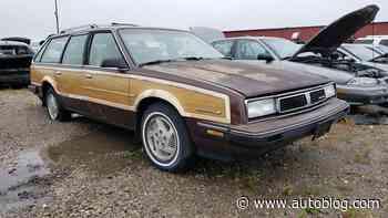 Junkyard Gem: 1988 Pontiac 6000 LE Safari Wagon