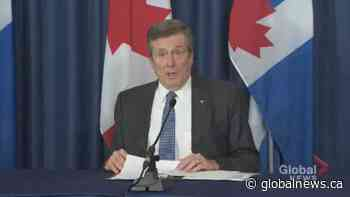 Coronavirus outbreak: Toronto releases geographic data on COVID-19 infections within the city