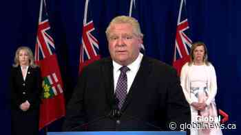 Coronavirus outbreak: Premier Ford announces Ontario to take over 5 more long-term care homes in GTA