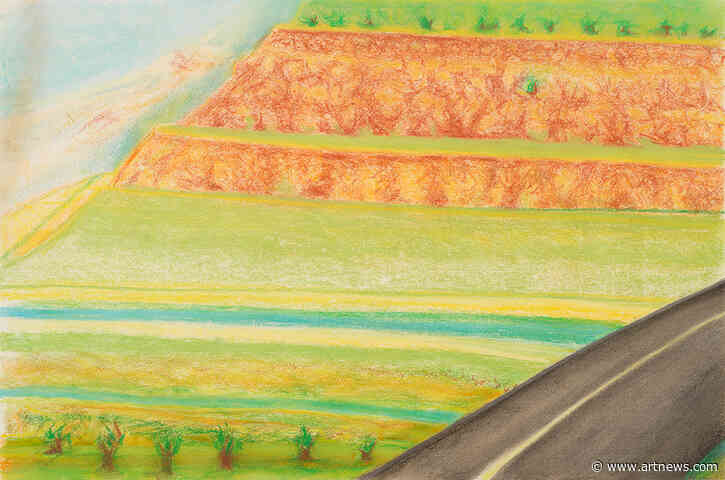 Richard Artschwager's Late-Career New Mexico Drawings Take Viewers through the Plains of His Youth
