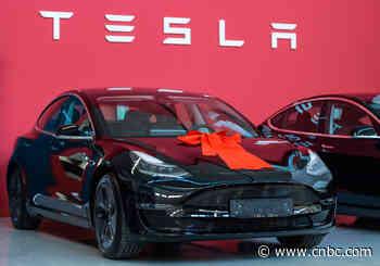 Tesla price cuts show realism in face of coronavirus slowdown - CNBC