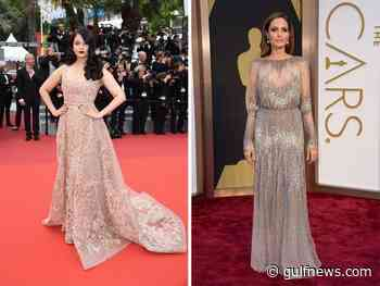 Bollywood and Hollywood stars count on Arab designers for their fashion milestones - Gulf News