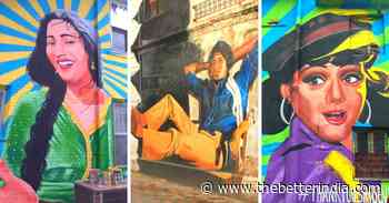 Once A House Painter, This Artist's Stunning Bollywood Murals Are A Must-See in Mumbai - The Better India