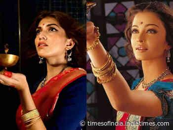 Splitsvilla 11 winner Shruti Sinha recreates famous Bollywood looks of Aishwarya Rai to Kareena Kapoor; more pics - Times of India