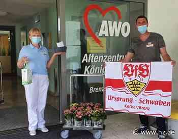 Gemeinnützige Aktion: VfB-Fans beschenken Pflegeheime in Königsbronn und Oberkochen - Heidenheimer Zeitung