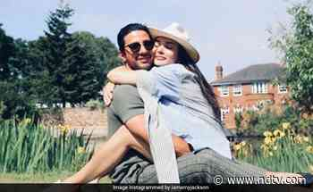 Amy Jackson And Fiance George Panayiotou Jam Insta Traffic With Loved-Up Pics - NDTV