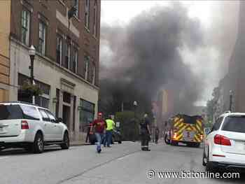 Traffic diverted from downtown Bluefield due to possible underground fire - Bluefield Daily Telegraph