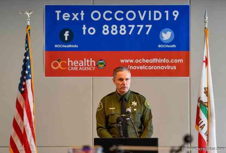 U.S. judge orders Orange County sheriff to better protect jail inmates from coronavirus