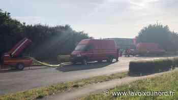 Harnes : feu de déchets nocturne à Ramery Environnement - La Voix du Nord