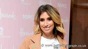 Stacey Solomon says she is 'sobbing' after watching her son learn to walk