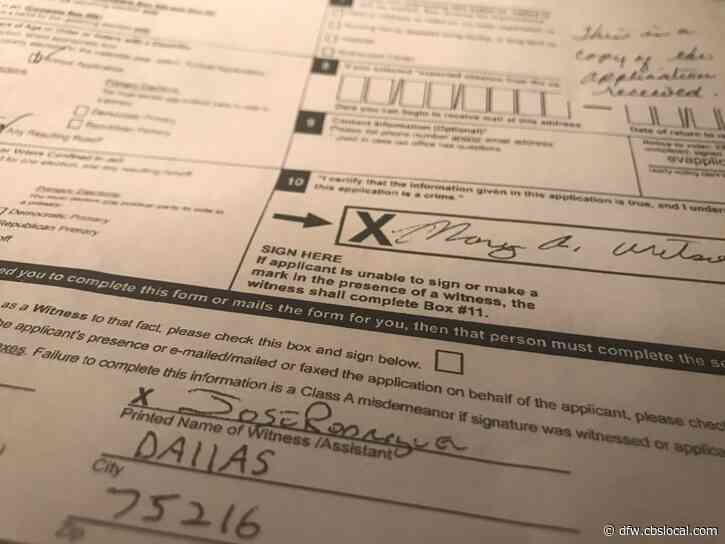 Texas Supreme Court: Lack Of Immunity To Coronavirus Does Not Qualify For Mail-In Ballot