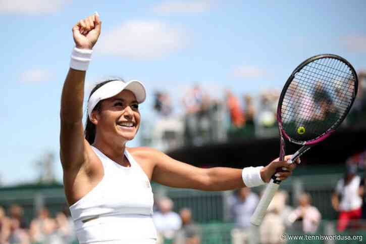 Heather Watson comes to grips with hiatus in grand style