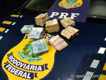PRF apreende dinheiro em espécie em Santa Terezinha de Itaipu - O Paraná