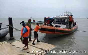 Naufragan pescadores en Playa Norte, Ciudad del Carmen - El Heraldo de Tabasco