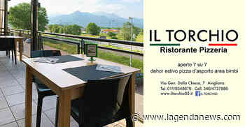 """I magnifici terrazzi all'aperto del ristorante pizzeria """"Il Torchio"""" di Avigliana - http://www.lagendanews.com"""