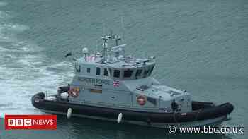 Channel migrants: Boats carrying 60 people intercepted