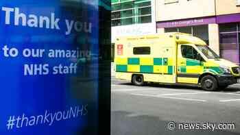 Coronavirus deaths: 412 more people die with COVID-19 in UK - Sky News