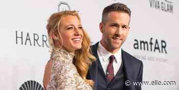 Blake Lively Trolls Ryan Reynolds Over Photoshopped Underwear Shot - ELLE.com