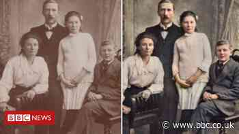 Coventry man brings to life old photos to 'give them a home'