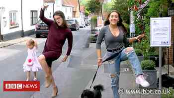 Ministry of Silly Walks comes to Sonning during lockdown
