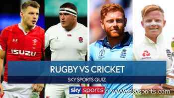 Sports Stars Quiz: Rugby vs Cricket - Dan Biggar and Jamie George vs Ollie Pope and Jonny Bairstow - Sky Sports