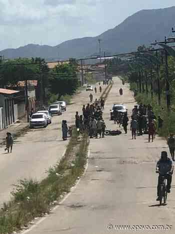 Jovem de 18 anos é morto e adolescente é baleado na Pacatuba - O POVO