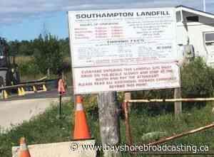 Saugeen Shores Saugeen Shores Landfill Back To Normal News Centre - Bayshore Broadcasting News Centre
