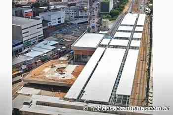 Nova estação ferroviária de Francisco Morato deverá ser entregue no segundo semestre - Notícias de Campinas