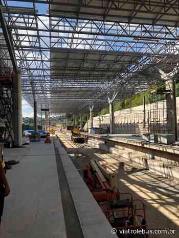 Nova Estação Francisco Morato recebe acabamento e escadas rolantes - Via Trolebus