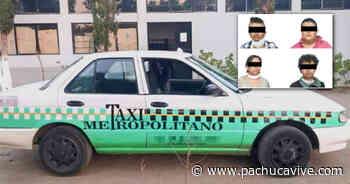 #Atrapados 🚨 Sujetos utilizaban taxi metropolitano de Pachuca para efectuar robos - Pachuca VIVE
