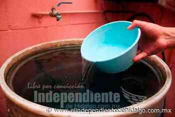 Faltará agua en 20 colonias al oriente de Pachuca - Independiente de Hidalgo