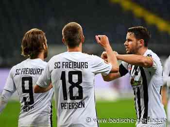 Fotos: SC Freiburg verpasst in Frankfurt den ersten Sieg nach dem Re-Start - SC Freiburg - Fotogalerien - Badische Zeitung