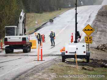 County roads damaged due to wetness - Whitecourt Star
