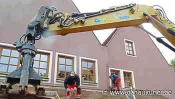 Baubeginn am Haus St. Benedikt - donaukurier.de