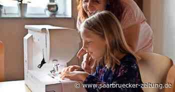 Achtjährige aus Eft bei Perl näht Stoffmasken für den guten Zweck - Saarbrücker Zeitung