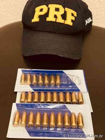 Policiais encontraram 27 munições de calibre 9 mm - TNOnline