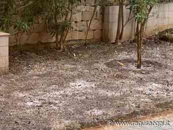 Violenta grandinata e intensa pioggia a Ragusa. Ancora maltempo anche nel fine settimana - Ragusa Oggi
