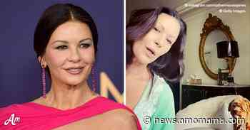 Catherine Zeta-Jones Plays Piano for Her Adorable Rescued Pup Taylor - AmoMama