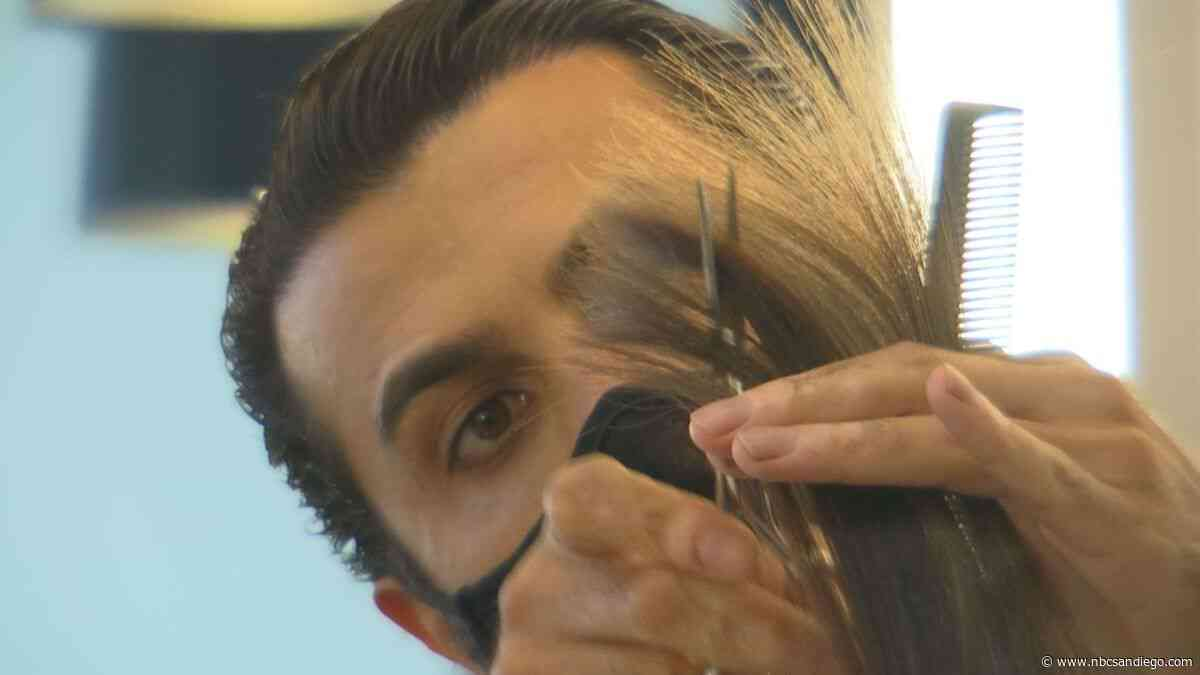 Governor's Announcement Catches Some Salons Off Guard - NBC 7 San Diego