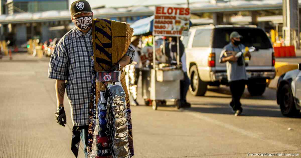 Commentary: San Diego County, Baja California need the border closure to end and binational contact tracing - The San Diego Union-Tribune