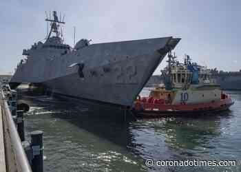 Future USS Kansas City (LCS 22) Arrives at San Diego Homeport - Coronado Times Newspaper