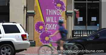Column: Messages of hope replace graffiti in San Diego's Gaslamp - The San Diego Union-Tribune
